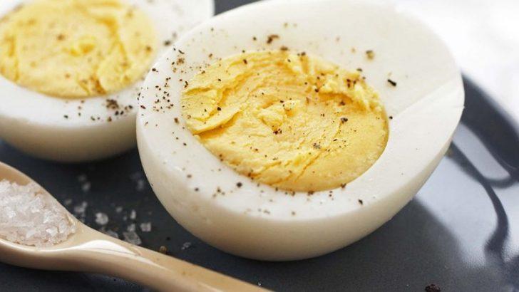 Haşlanmış Yumurta Diyetiyle 2 Haftada 11 Kilo Verin