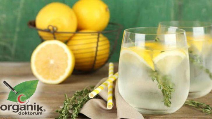 Limonlu Su ile Tedavi Edebileceğiniz 9 Sağlık Problemi