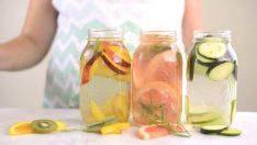Kavurucu Sıcaklarda Mutlaka İçmeniz Gereken 4 Detoks Suyu