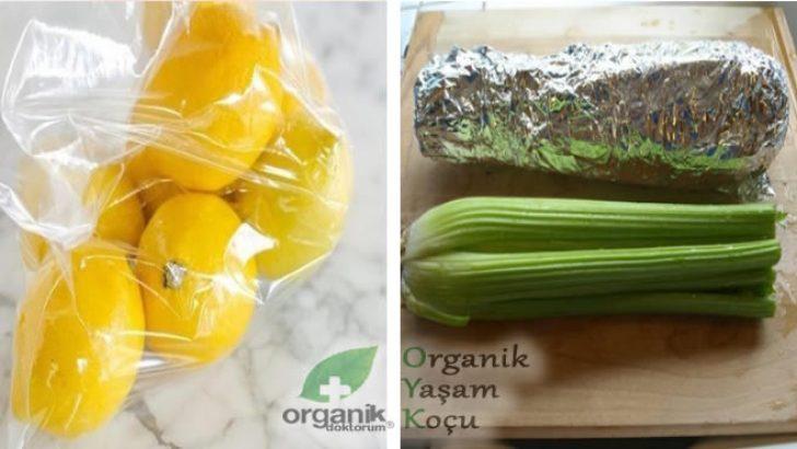 Yiyeceklerinizi Bozulmadan Saklamak İçin Kesinlikle Bunları Denemelisiniz..!