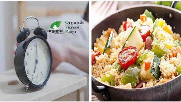 Kilo vermek için yemek yemeniz gereken önemli saatler!