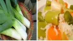 Pırasanın Faydaları ve Zeytinyağlı Yemek Tarifi