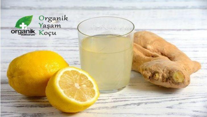 Zencefil, limon, sirke ve deniz tuzunu karıştırınca…