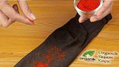 Pul Biberi Çoraba Dökünce Bakın Ne Oluyor?