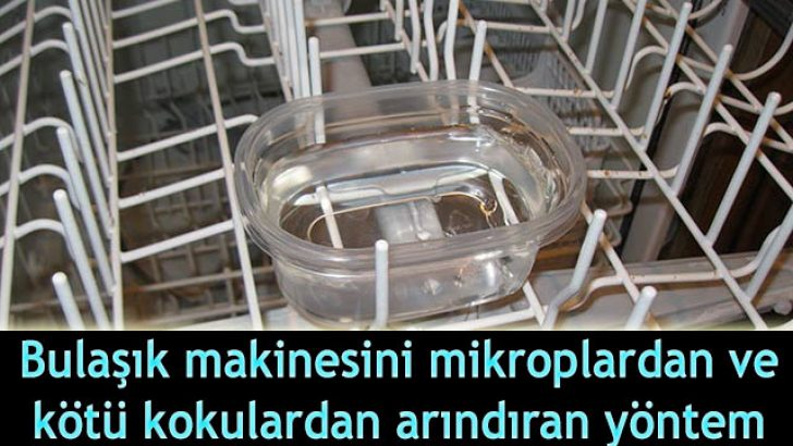 Bulaşık Makinesi Temizlemenin Püf Noktaları