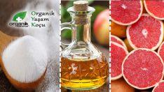 Mucize Greyfurt Karbonat ve Sirke Karışımı