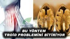 Tiroid Problemine Karşı Ceviz Kürü