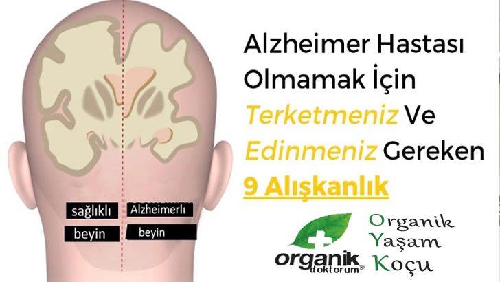 Alzheimer Hastası Olmamak İçin Bu Alışkanlıklarınızdan Kurtulun
