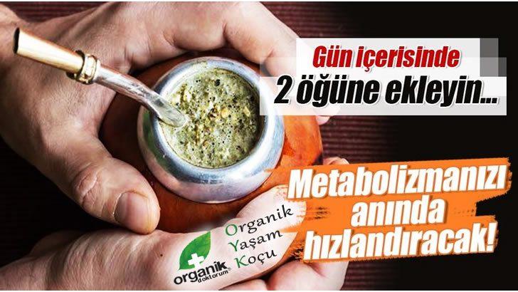 Bu Tavsiyeler Metabolizmanızı Anında Hızlandıracak!