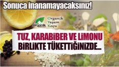 Limon Karabiber ve Tuz Karışımının Faydaları