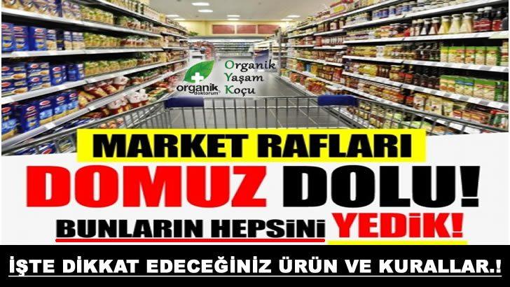 Market Raflarında Ki Domuz Ürünleri Tehlikesi