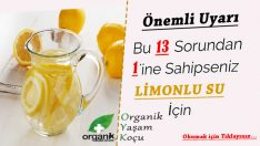 Hergün Limonlu Su İçmenin 13 Faydası