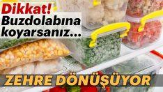 Buzdolabına konulduğundan tadı bozulan besinler…