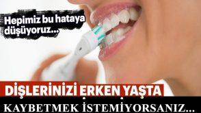 Dişlerinizi sağlıklı tutmak için bunlar şart
