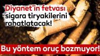 Diyanet İşlerinden Sigara Tiryakilerini Rahatlatan Açıklama