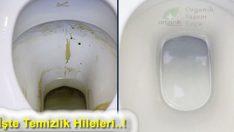 Kimyasal Kullanmadan Tuvalet ve Lavaboyu Tertemiz Yapan Tarif