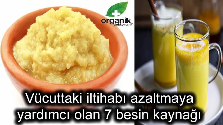 Vücuttaki iltihabı azaltmaya yardımcı besin…