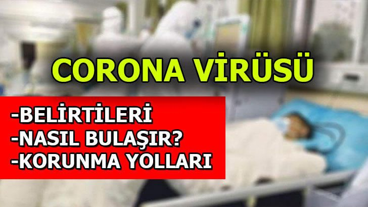 Bu belirtiler Corona virüs belirtileri…
