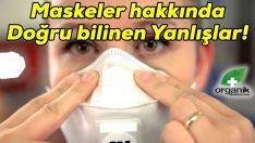 Koranavirüsten Korunmak için Maske takarken nelere dikkat edilmeli?