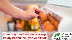 Yumurtayı kartondan çıkarıp dolaba koyuyorsanız bu uyarıya dikkat!