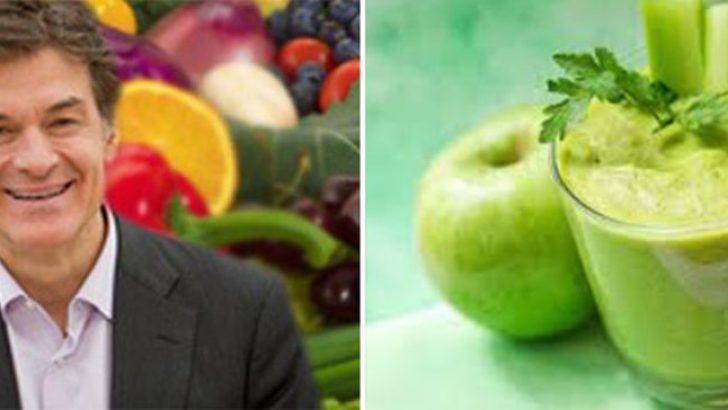 Ünlü Dr. Mehmet Öz'ün kanserden koruyan Karışım: Yeşil Dev