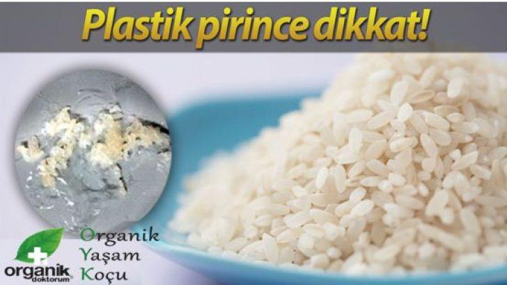 Lütfen Dikkat: Çin'den Gelen Pirinç Plastik Olabilir! Ve Bunu Anlamak İçin?