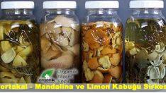 Mandalina Limon ve Portakal Kabuğu Sirkesi