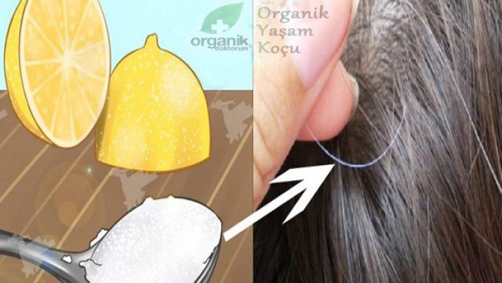 Beyazlayan Saçlara Organik Çözüm