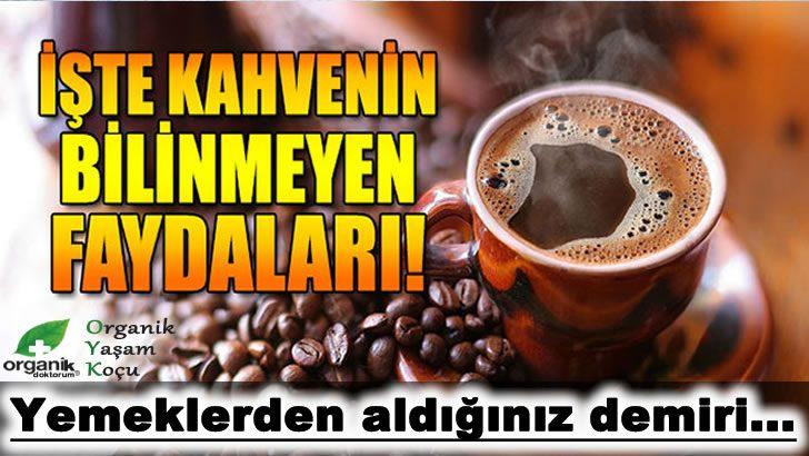 Güçlü Antioksidan Kahvenin Bilinmeyen Faydaları