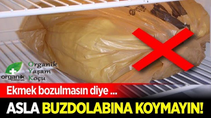 Uzmanlara Göre Ekmek Neden Buzdolabında Saklanmaz