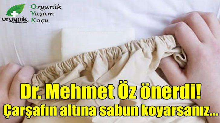 """Dr. Mehmet Öz Önerdi """"Çarşafın Altına Sabun Koyun"""""""