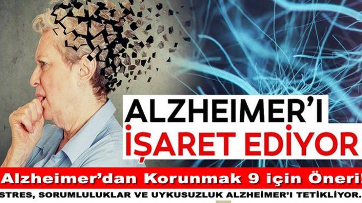 Alzheimer'dan Sizi Koruyacak Altın Değerinde 9 Öneri..!