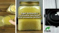 Sarımsakla hazırlanan doğal antibiyotik! Anneanne tarifleri…